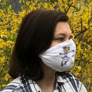 Face Mask Handmade Washable with Insert Filter